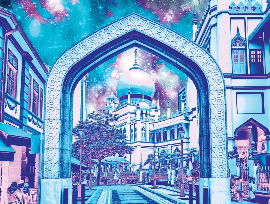 Sultan Mosque At Arab Street