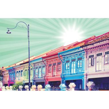 Colourful Shophouses 1 (Mint)