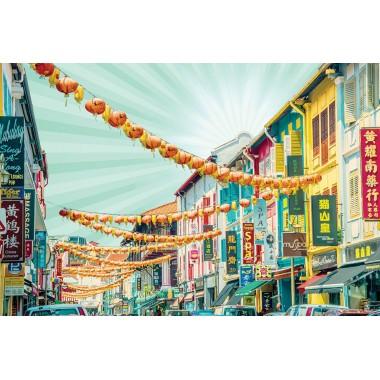 Colourful Shophouses 3 (Mint)