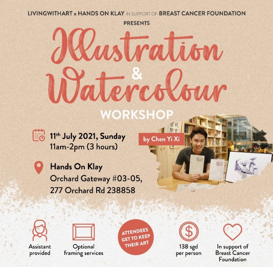 Illustration and Watercolour Workshop