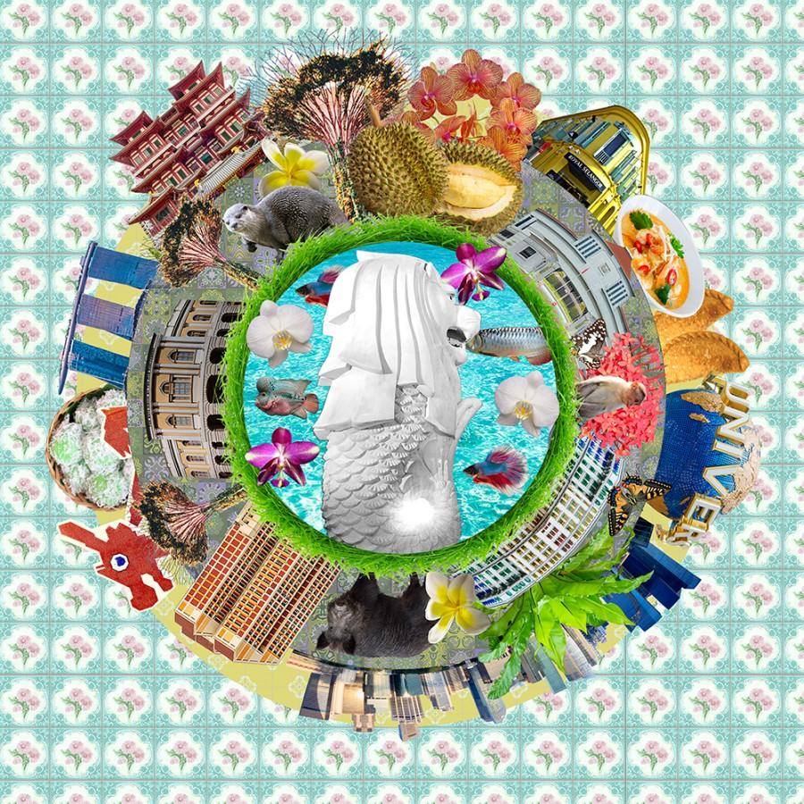 Singapore collage V
